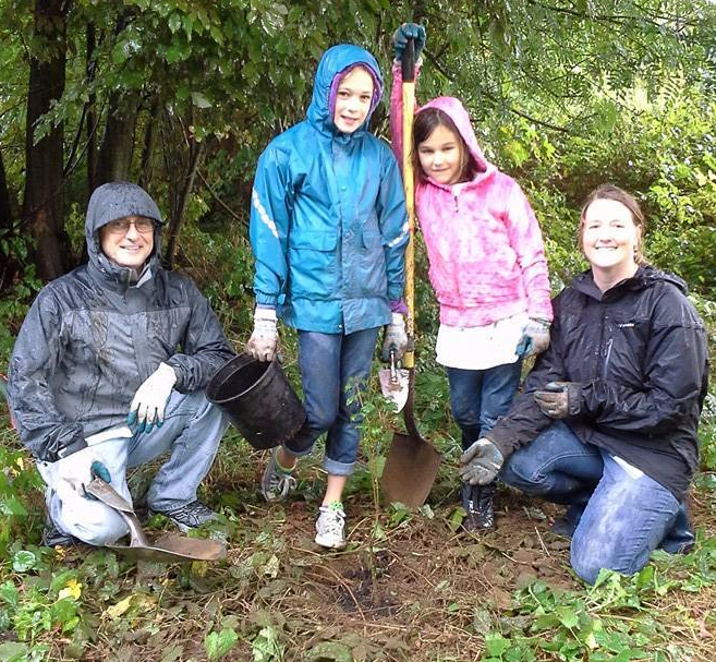 Seattle Arbor Day at Sam Smith Park