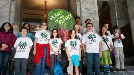 Children of Plant for the Planet