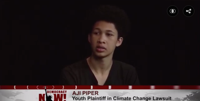 Aji Piper on Democracy Now! 4/14/2016