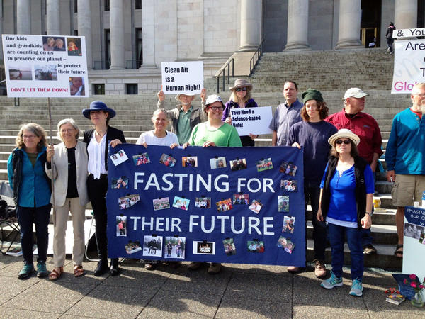 Parents & Grandparents Fasting for The WA Climate Kids: Fighting for their Future