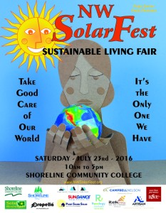 NW SolarFest 2016 Poster