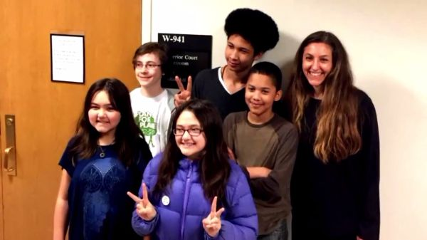 Our Climate Kids, together with lawyer Andrea Rodgers, are suing WA State over Climate inaction